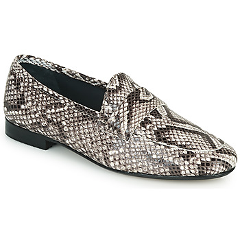 Shoes Women Loafers JB Martin FRANCHE Black
