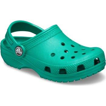 Shoes Children Clogs Crocs 204536-3TJ-C5 Kids Classic Clog Deep Green