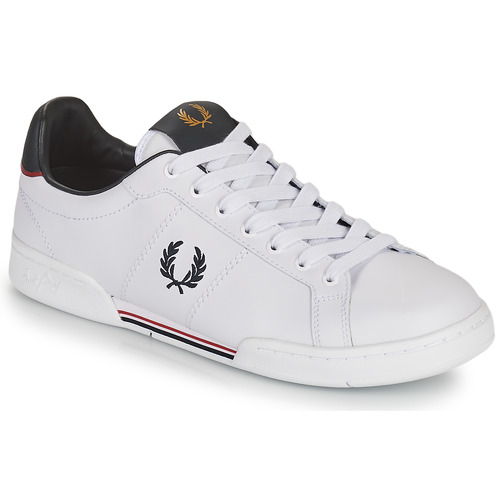 Shoes Men Low top trainers Fred Perry B722 White