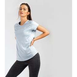 Clothing Women T-shirts & Polo shirts Dare 2b CORRAL Quick-Dry TShirt Petrol Blue Grey Grey