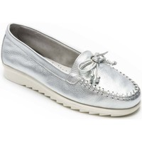Shoes Women Loafers Padders Bloom Womens Moccasins Silver
