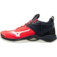 Shoes Men Multisport shoes Mizuno Chaussures  Wave Momentum 2 rouge/blanc/noir