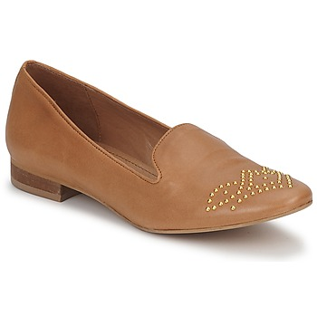 Shoes Women Loafers Betty London CHEFACHE Camel