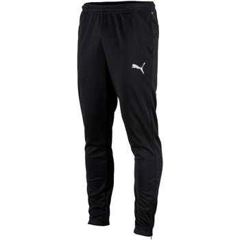Clothing Men Tracksuit bottoms Puma Pantalon  Teamrise poly training noir