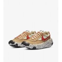 Shoes Low top trainers Nike Overbreak SP Fossil Mars Yard White/Brown/Red