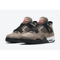 Shoes Hi top trainers Nike Air Jordan 4 Taupe Haze Taupe Haze/Oil Grey-Off White-Infrared 23