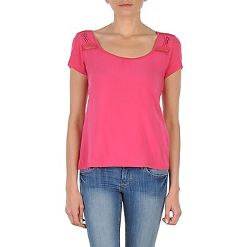 Clothing Women short-sleeved t-shirts DDP NOWI Pink