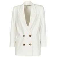 Clothing Women Jackets / Blazers Betty London OBINA White