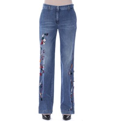 Clothing Women Straight jeans Byblos Blu
