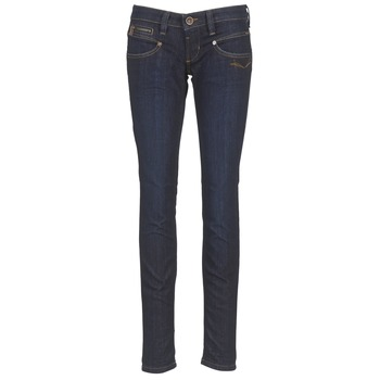 Clothing Women Slim jeans Freeman T.Porter ALEXA STRETCH Blue / Dark