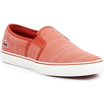 Shoes Women Slip-ons Lacoste Gazon Orange