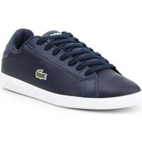 Shoes Men Low top trainers Lacoste Graduate BL 1 Sma Navy blue