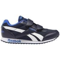 Shoes Children Low top trainers Reebok Sport Royal CL Jogger White, Black