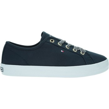 Shoes Women Low top trainers Tommy Hilfiger FW0FW04848DW5 Navy blue
