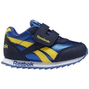 Shoes Children Derby Shoes & Brogues Reebok Sport Royal CL Jogger Blue, Yellow, Navy blue