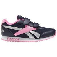 Shoes Children Derby Shoes & Brogues Reebok Sport Royal CL Jogger Black, Pink