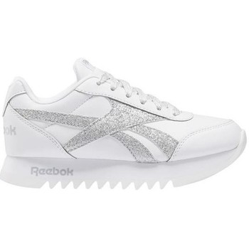 Shoes Children Low top trainers Reebok Sport Royal CL Jogger White, Silver