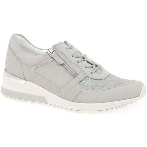 Shoes Women Low top trainers Waldläufer Chloe Womens Trainers grey