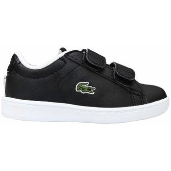 Shoes Children Low top trainers Lacoste Carnaby Evo Strap Black