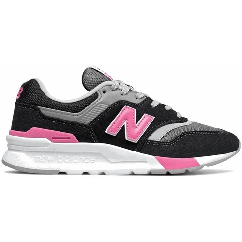 Shoes Women Low top trainers New Balance 997 Black, Grey, Pink