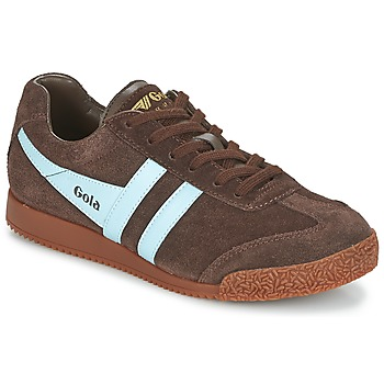 Shoes Men Low top trainers Gola HARRIER Brown / Blue