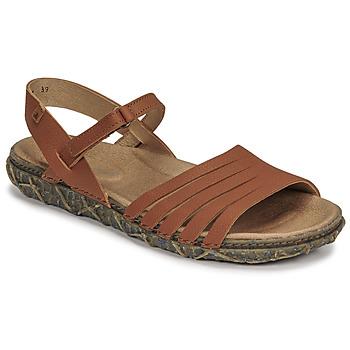 Shoes Women Sandals El Naturalista SOFT Brown