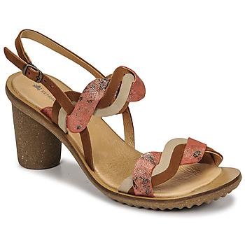 Shoes Women Heels El Naturalista FANTASY Brown