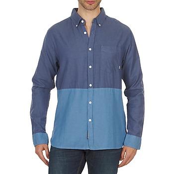 Clothing Men Long-sleeved shirts Element BRENTWOOD Blue