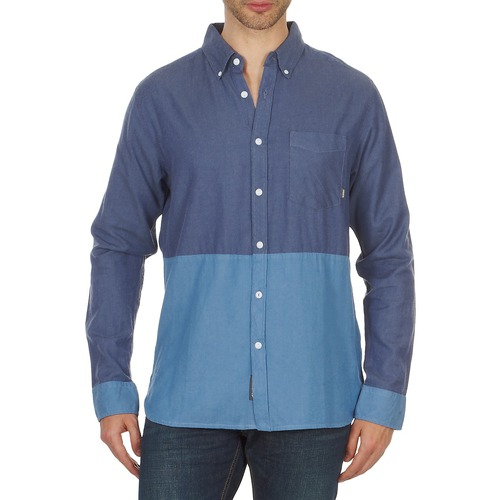 Clothing Men long-sleeved shirts Element BRENTWOOD Blue