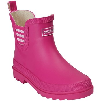 Shoes Children Wellington boots Regatta HARPER JUNIOR Wellingtons Cabaret Pink Pink