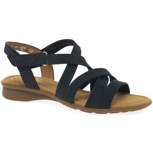Shoes Women Sandals Gabor Moben Womens Sandals blue