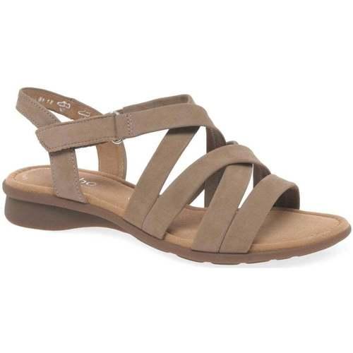Shoes Women Sandals Gabor Moben Womens Sandals BEIGE