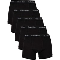Underwear Men Boxer shorts Calvin Klein Jeans 5 Pack Trunks black