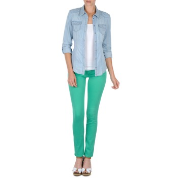 Clothing Women 5-pocket trousers Cimarron CASSIS Green