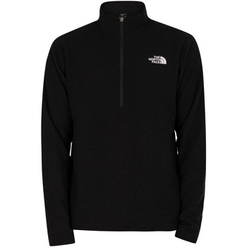 Clothing Men Jumpers The North Face Textured Cap Rock 1/4 Zip Sweatshirt black