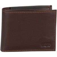 Bags Men Wallets Levi's Casual Classics Leather Wallet brown
