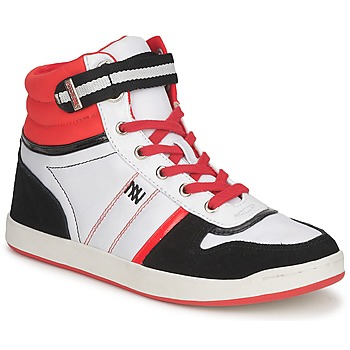 Shoes Women Hi top trainers Dorotennis STREET LACETS Red / White / Black