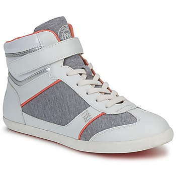 Shoes Women Hi top trainers Dorotennis MONTANTE VELCRO Grey