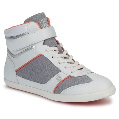 Shoes Women Hi top trainers Dorotennis MONTANTE VELCRO Grey