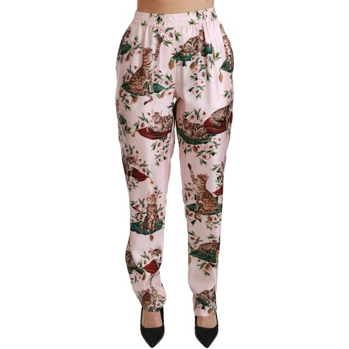 Clothing Women Wide leg / Harem trousers D&G