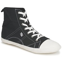 Shoes Women Hi top trainers Dorotennis MONTANTE LACET INSERT Black