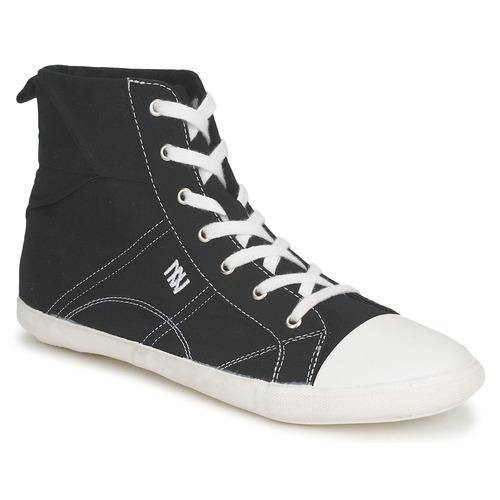 Shoes Women Hi top trainers Dorotennis MONTANTE LACET INSERT Black