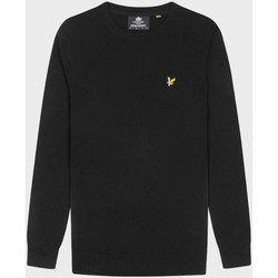Clothing Men Sweaters Lyle & Scott  Black