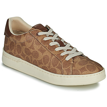 Shoes Women Low top trainers Coach LOWLINE Brown