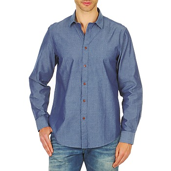 Clothing Men long-sleeved shirts Ben Sherman BEMA00490 Blue