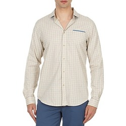 Clothing Men long-sleeved shirts Ben Sherman BEMA00509 Beige