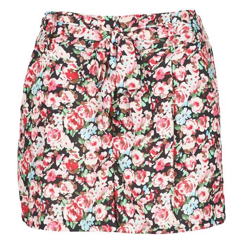 Clothing Women Shorts / Bermudas Betty London OULALA Black / Pink