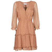 Clothing Women Short Dresses Betty London OBELLA Rust