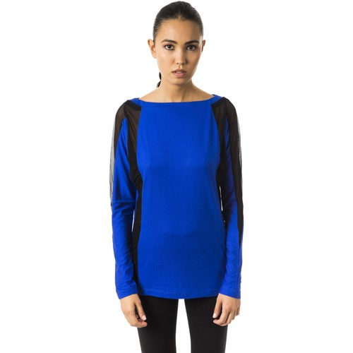 Clothing Women Long sleeved tee-shirts Byblos Blu