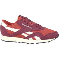 Shoes Men Low top trainers Reebok Sport CL Nylon Red